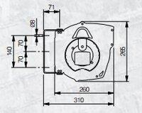 Automatický navíjecí buben elektro 811210