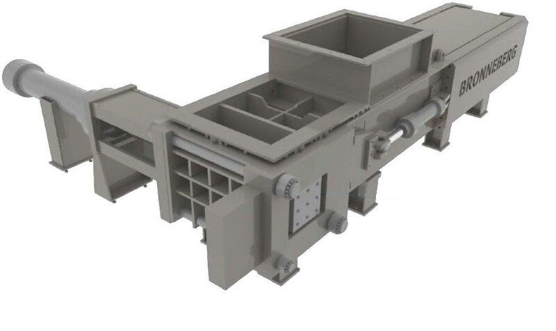 Paketovací lis 90/125t MPZ