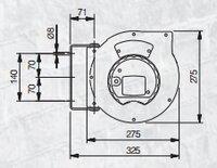 Automatický navíjecí buben elektro 811060