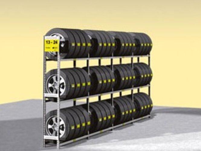 Reg.na pneu jednoduchý Y základní,3police DM3–1000GF