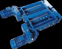 Perforátor PET lahví 2×5,5kW PET32–2