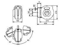 Automatický navíjecí buben na vzduch 804200