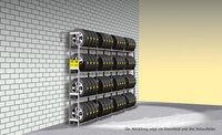 Reg.na pneu jednoduchý Y prodloužení,4police DM4–1000AF