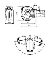 Automatický navíjecí buben slampou 808810