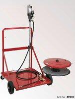 Vozík+pumpa na maz.tuk 200L sud/3m hadice 4990C