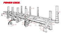 P.CAGE 380V – 3PH – 50/60HZ – 3MOD – 14TOWERS HD492B9