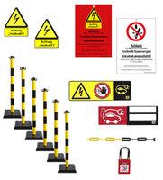 HV E-Car Sada výstražných pásek a značek 50427