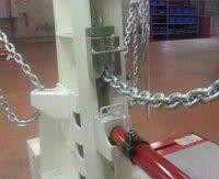 Zajištění tažného řetězu 25T HDY2103