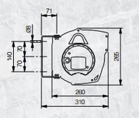 Automatický navíjecí buben elektro 811220