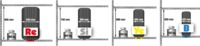 Reg.na pneu jednoduchý Y základní,5polic Y5-GF
