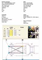 Teleskopické digitální měřidlo 400–2665mm vkufru + databanka MGE13