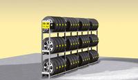 Reg.na pneu jednoduchý Y prodloužení,3police DM3–1000AF