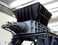 2hřídelový drtič 1×5kW , elektrický pohon, kapacita <300kg/h TB500