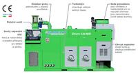 Drtič kabelů 450–600kg/hod sturbem SINCRO530MILL
