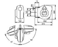 Automatický navíjecí buben elektro 811200