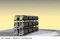 Reg.na pneu dvojitý Y prodloužení,3police Y3D-AF