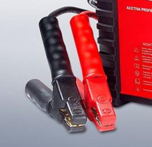 Svorky pro Acctiva Professional Flash pro kabel 16mm? červená 80 43.0004.2882