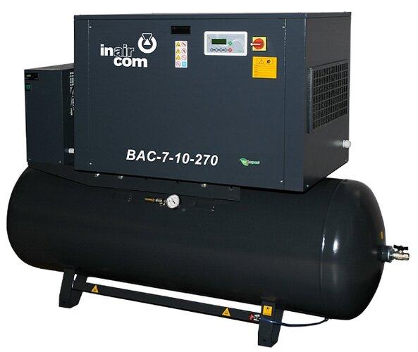 Šroubový kompresor BAC 7–10–270-KS S33071014