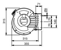 Automatický navíjecí buben na vzduch 808075