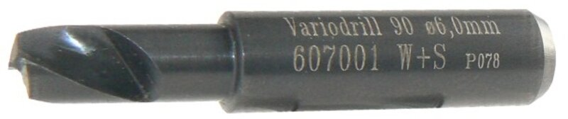 Vrták 6mm do VARIO DRILL WS 90 607001