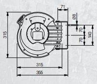 Automatický navíjecí buben elektro 808723