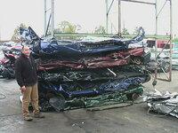 Lis na automobily – autovraky pohon diesel Car Flattener