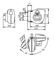Automatický navíjecí buben slampou 811340