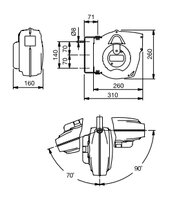 Automatický navíjecí buben slampou 811300