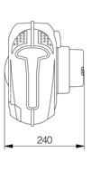 Automatický navíjecí buben se startovacíma kabelama 809110