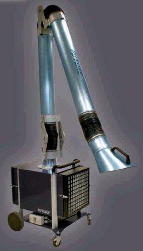 Pojízdná filtrační jednotka/8kg CA/1250m3 hod SMART-G-402