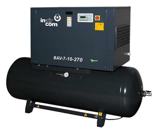 Šroubový kompresor BAV 7–10–270 S32071014