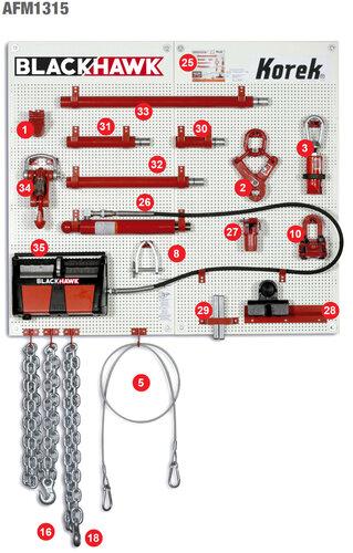 Sada hydrauliky pro rám KOREK č.2AFM1315