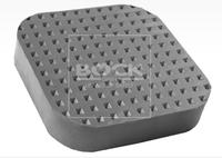 Gumové talíře pro pojízdné zvedáky universální 100×100×25100100